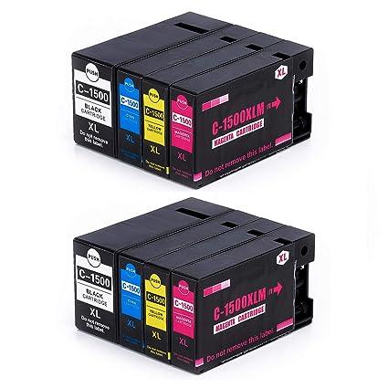 PGI-1500XL - Cartuchos de Tinta para Canon PGI-1500XL, Color Negro ...