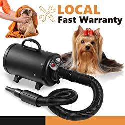 Kpmall Upgraded Dog Grooming Dryer Blower Professional