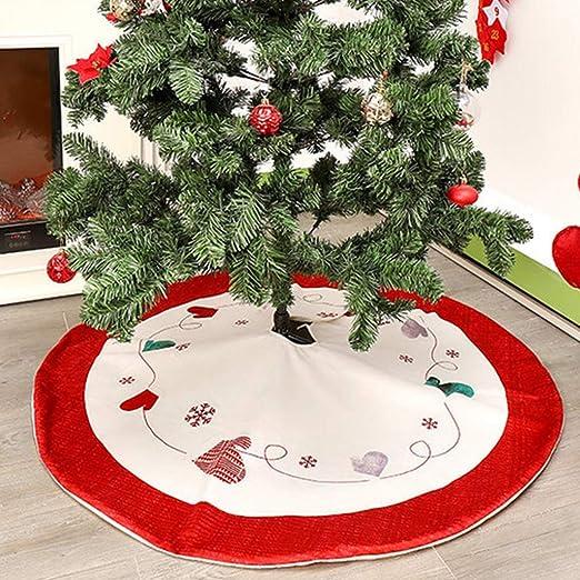 Manyo. Cache Pie Árbol de Navidad, Falda Árbol de Navidad Rojo ...