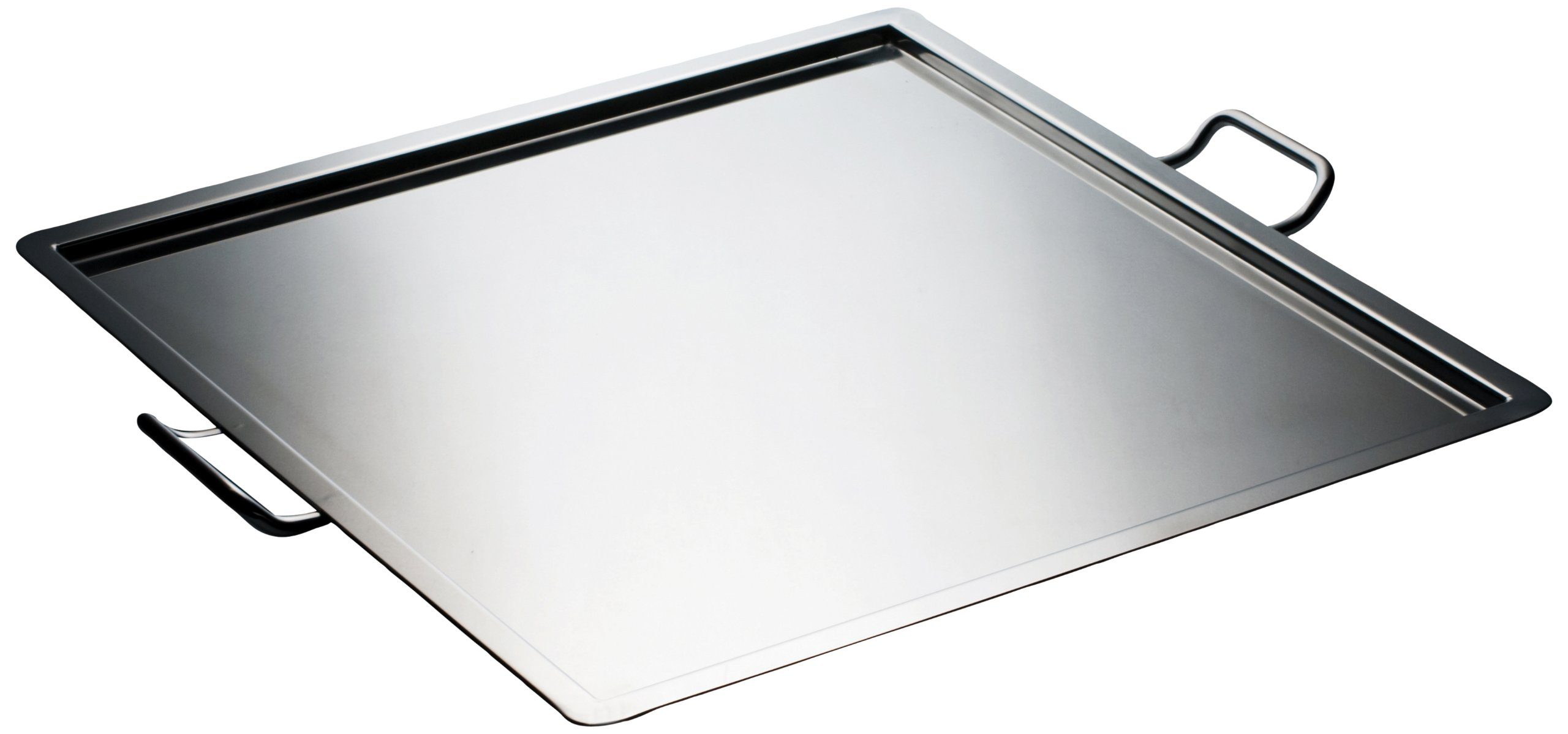 Mepra Novecento Square Tray with Handles
