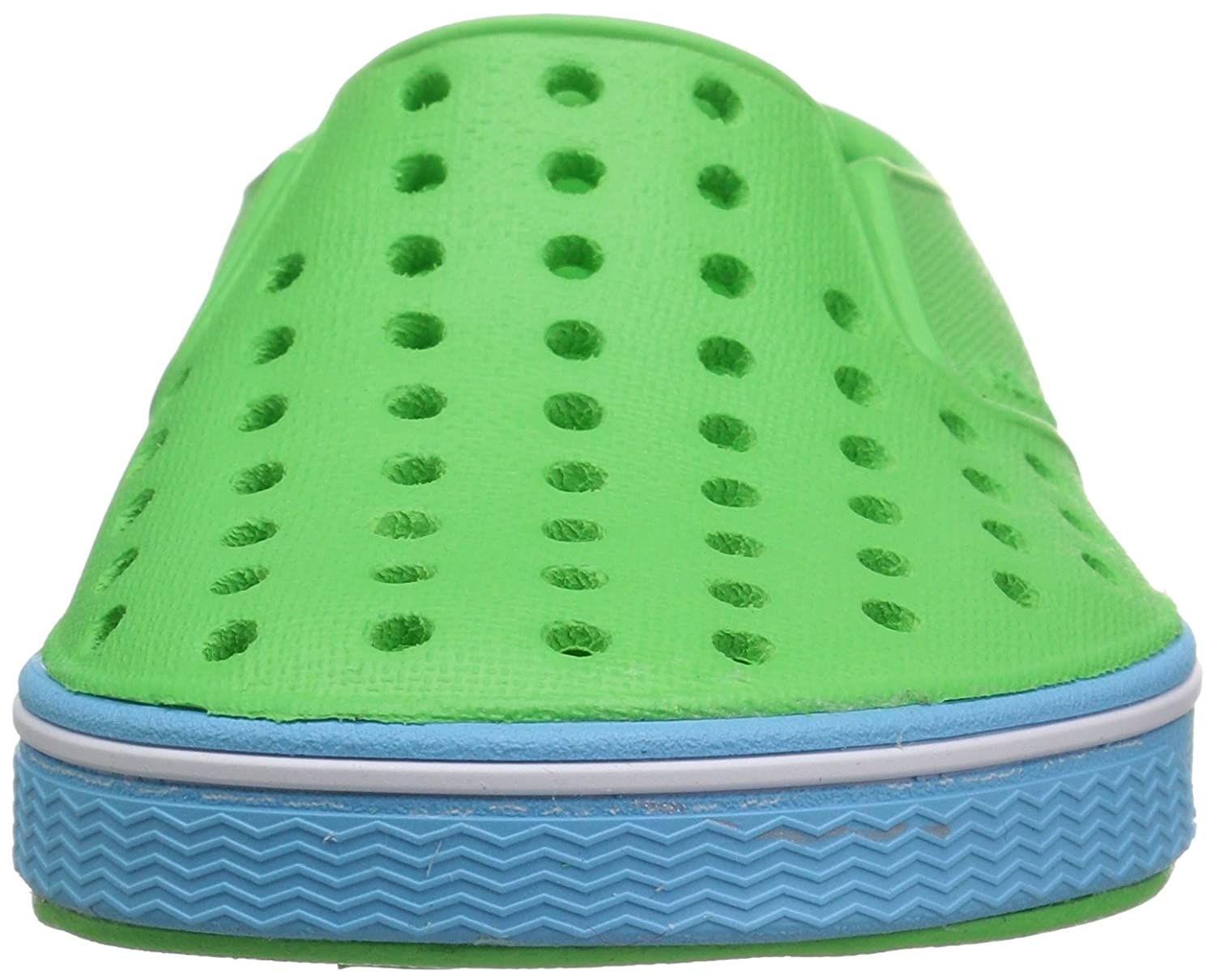 Riddle Green//Surfer Blue 8 Medium US Toddler Native Kids Miles Water Proof Shoes