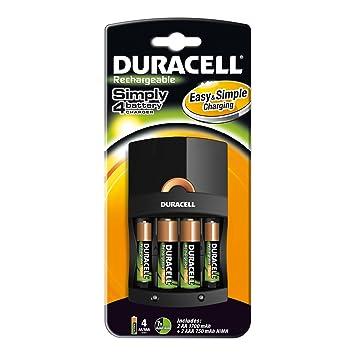 Duracell - Cargador (Cef 14 + 2Xaa + 2Xaaa, Cef14 / Aa, 4 ...