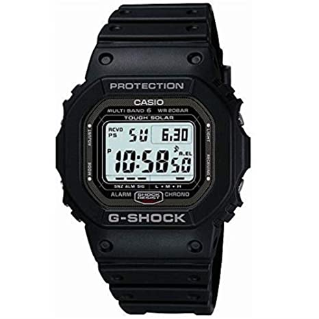 499abc9e2ee8 Amazon.com  Casio G Shock GW-5000-1JF Multi Band 6 Japan Made  Watches