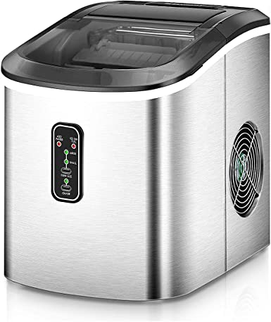 Euhomy Ice Maker Machine Countertop Makes 26