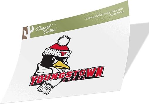 Youngstown State University YSU Penguins NCAA Vinyl Decal Laptop Water Bottle Car Scrapbook Sticker - 00002