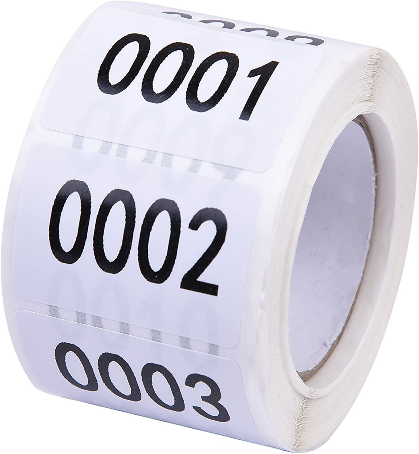Simple Durable 1-500 Numbers Consecutive Number Labels Inventory Stickers