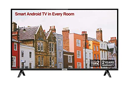TCL 32ES568 32 Inch HD Smart Android TV, HDR, Micro Dimming, Netflix,  YouTube, DVB Compatible, Dolby Audio, Bluetooth, Wi-Fi, 2 x HDMI, 1 x USB,