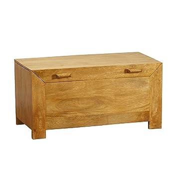 Homescapes – Dakota – caja otomana general/caja de juguetes/caja de ...