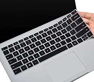 CaseBuy Keyboard Cover for Microsoft Surface Book 3 2020, Surface Book 2/1 13.5 and 15 inch, Surface Laptop 2 2018, Surface Laptop 2017, Surface Book Accessories, Black