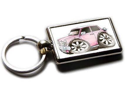 Mini Cooper 1980 - Llavero de coche clásico cromado con ...