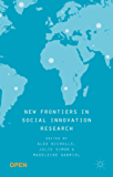 New Frontiers in Social Innovation Research