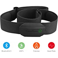 CooSpo Frecuencia Cardíaca Bluetooth Banda Monitor Sensor