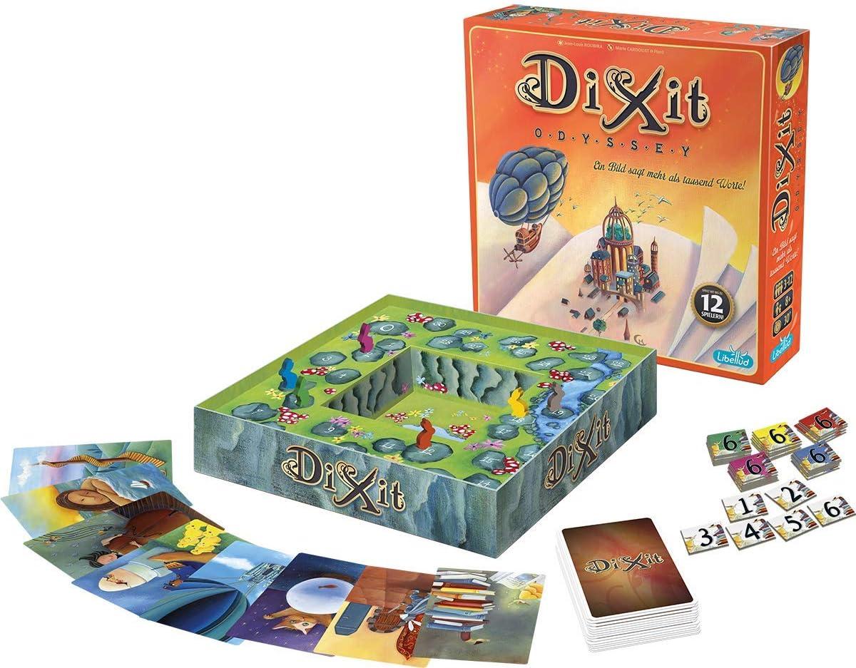 Asmodee - Dixit Odyssey, juego de cartas (Libellud 484975): DIXIT ...