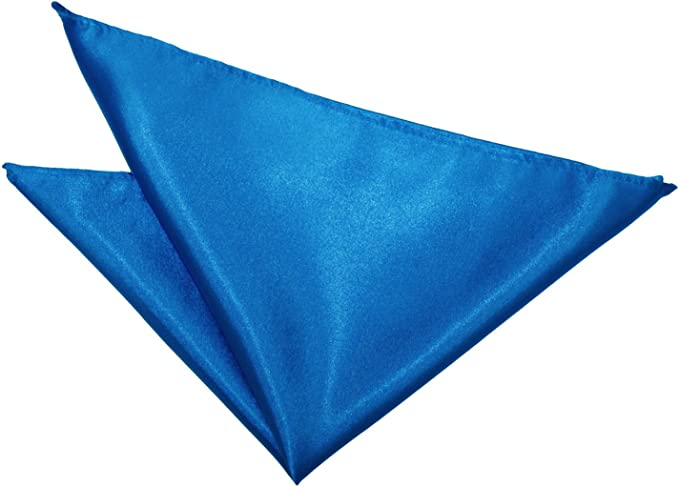 Pañuelo De Bolsillo Satén Azul Eléctrico: Amazon.es: Ropa y accesorios