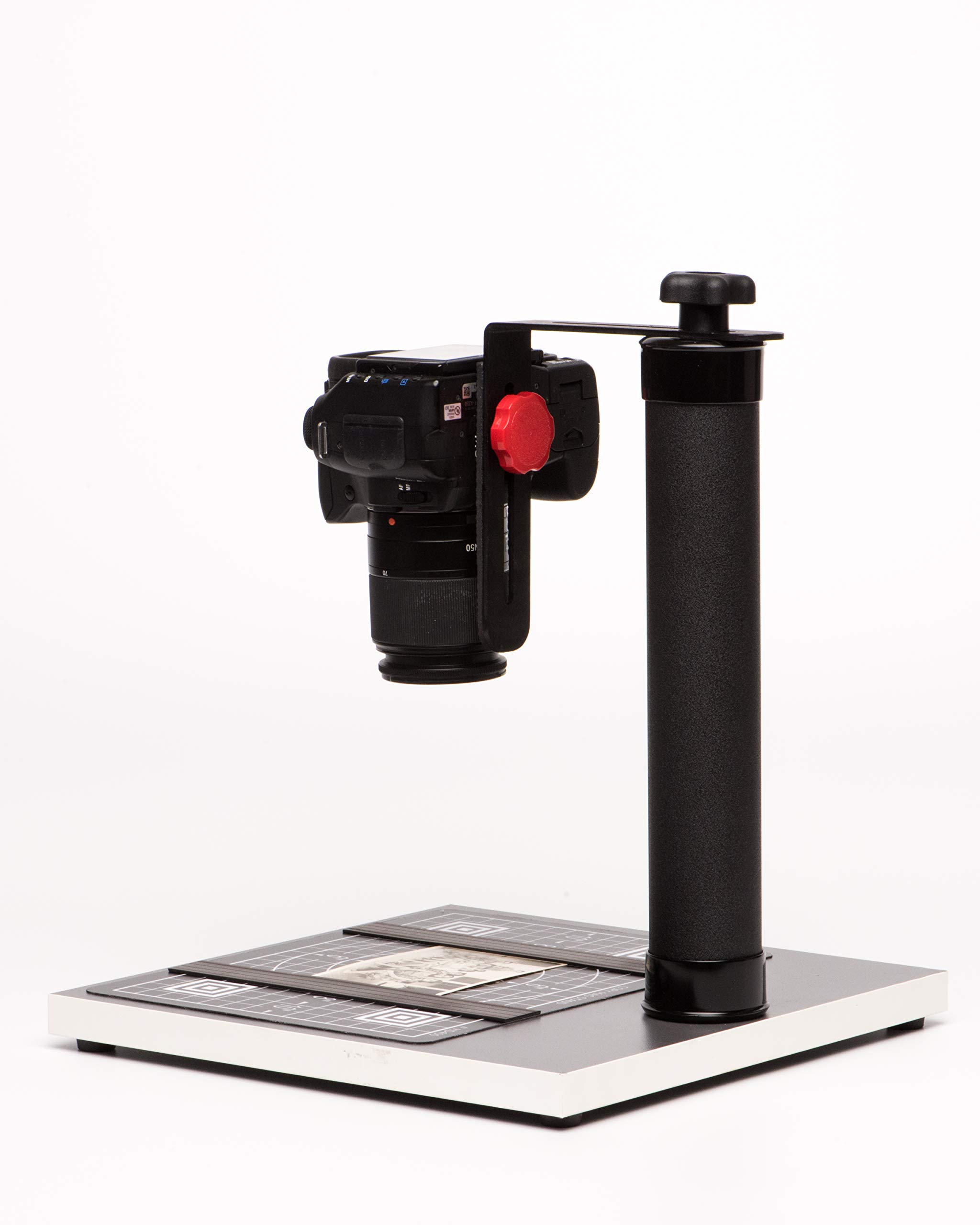 COPY STAND # HD400, A Compact & Small Tool for Digitizing Documents, Photos, or Small Objects with Today's SLR Super Megapixel Cameras by Stand Company (Image #8)