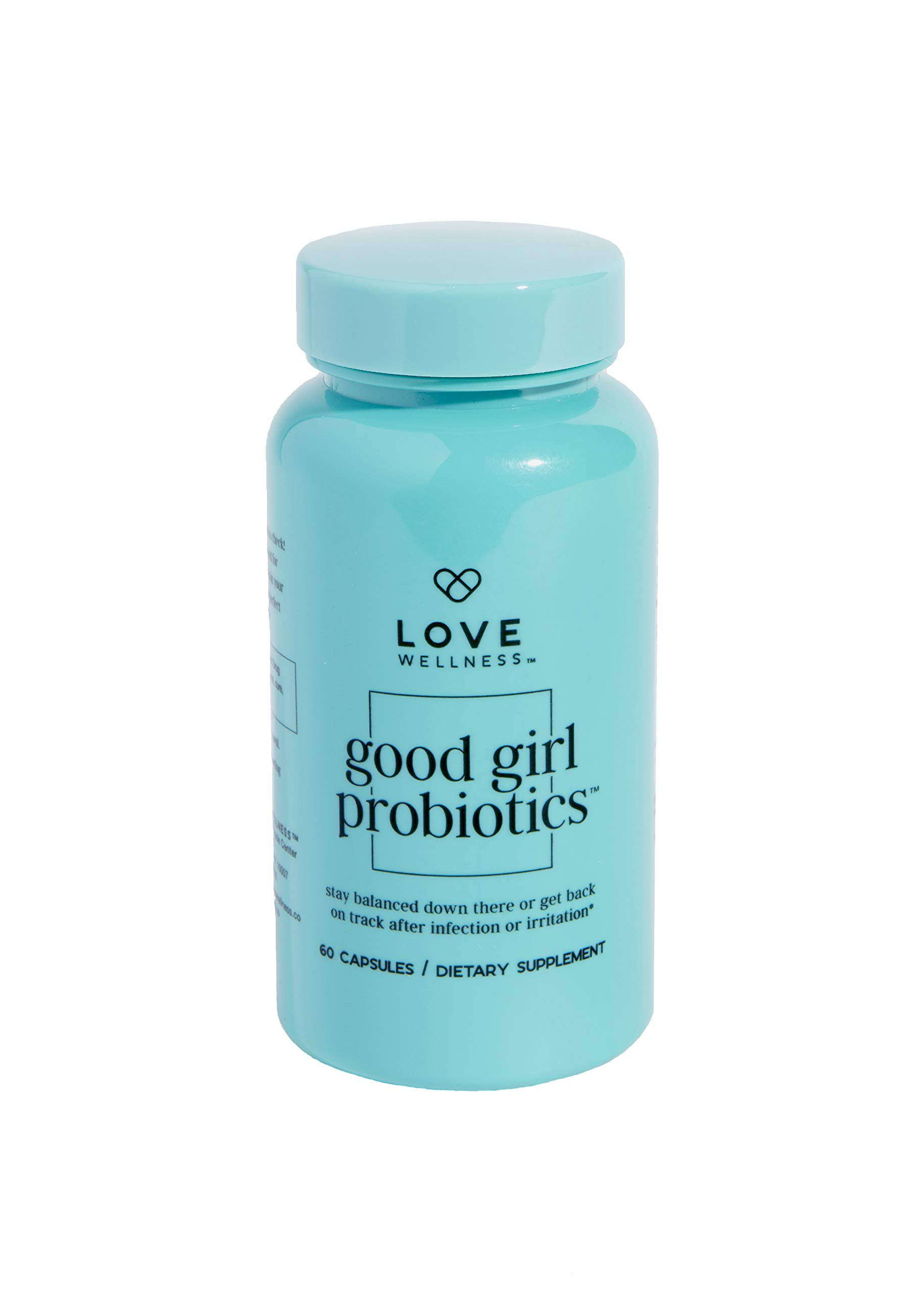 Love Wellness Good Girl Probiotics - Good Health Starts in Your Gut - Be Safe from Irritations and Infections by Love Wellness