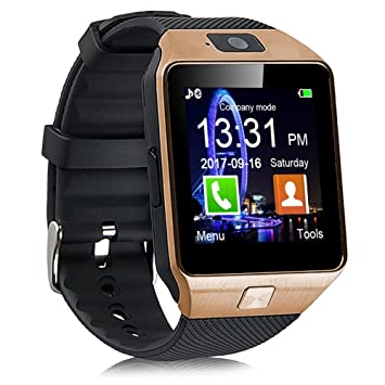 Padgene DZ09 - Reloj Inteligente Bluetooth con cámara para ...
