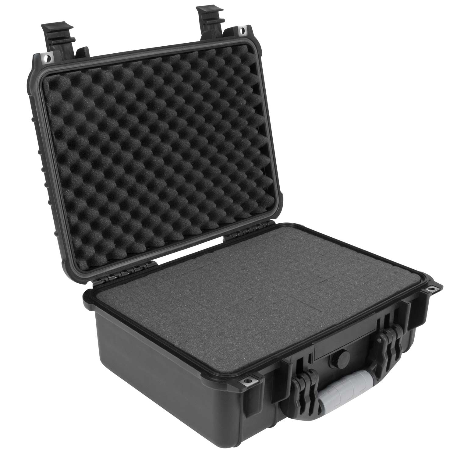 Elkton Outdoors Hard Gun Case: Fully Customizable Pistol Case: Holds 4 Handguns and 8 Magazines: Crush Resistant & Waterproof! by Elkton Outdoors (Image #6)