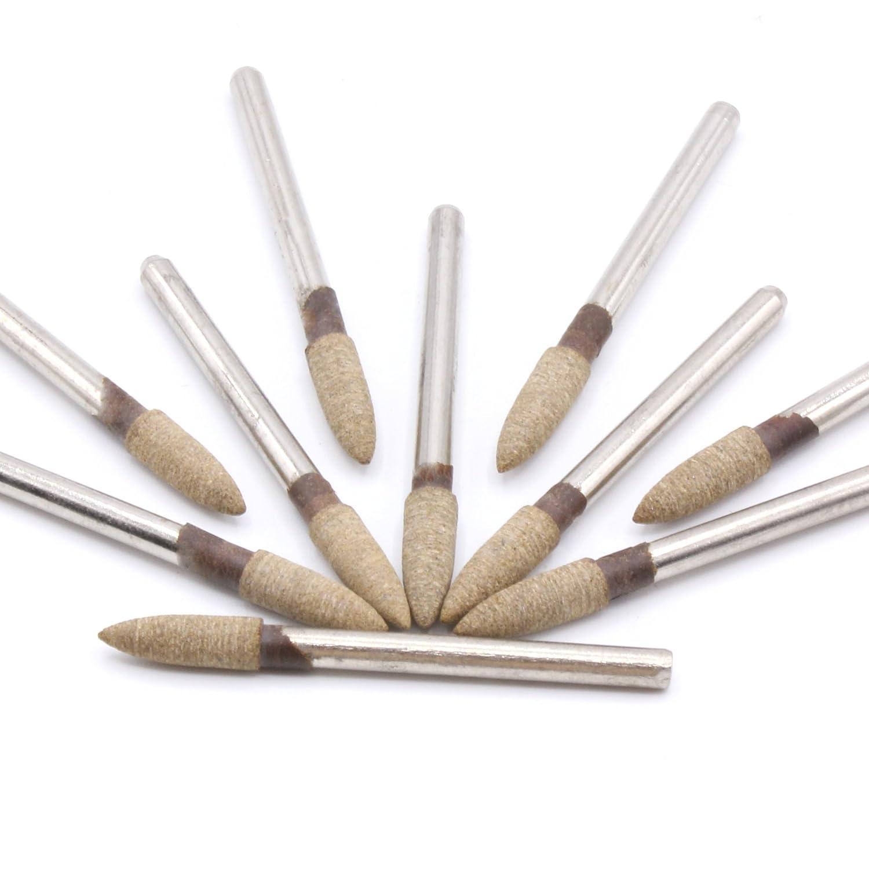 Proxxon Meule 10/x Pointe pon/çage Meules C/ône 4/mm pour ponceuse Dremel
