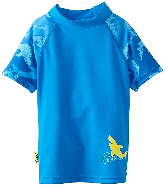 Baby Banz Boys Short Sleeve Rash Top S13RS-FS