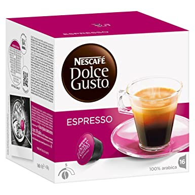 Nescafé Dolce Gusto - Espresso - Cápsulas de Café - 16 Cápsulas