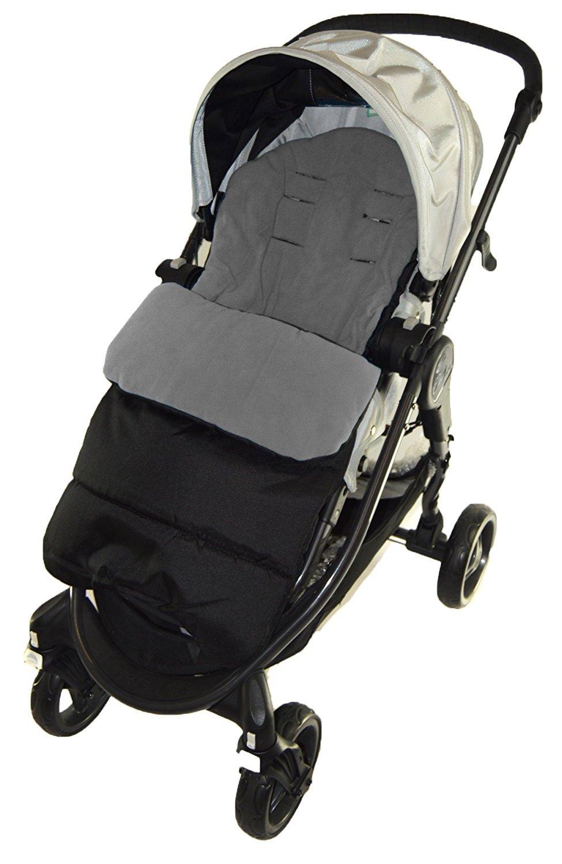Saco de capazo con diseño de delfín gris compatible con cochecito de bebé Jogger
