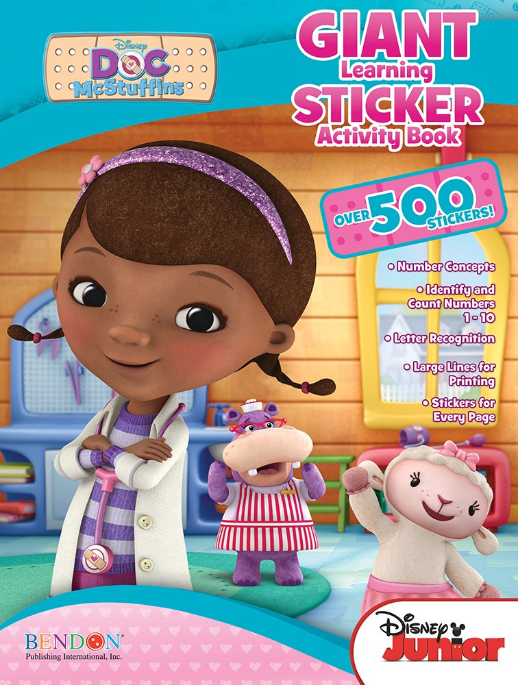 Bendon Publishing Doc McStuffins Giant Learning Sticker Activity Book by Bendon (Image #1)