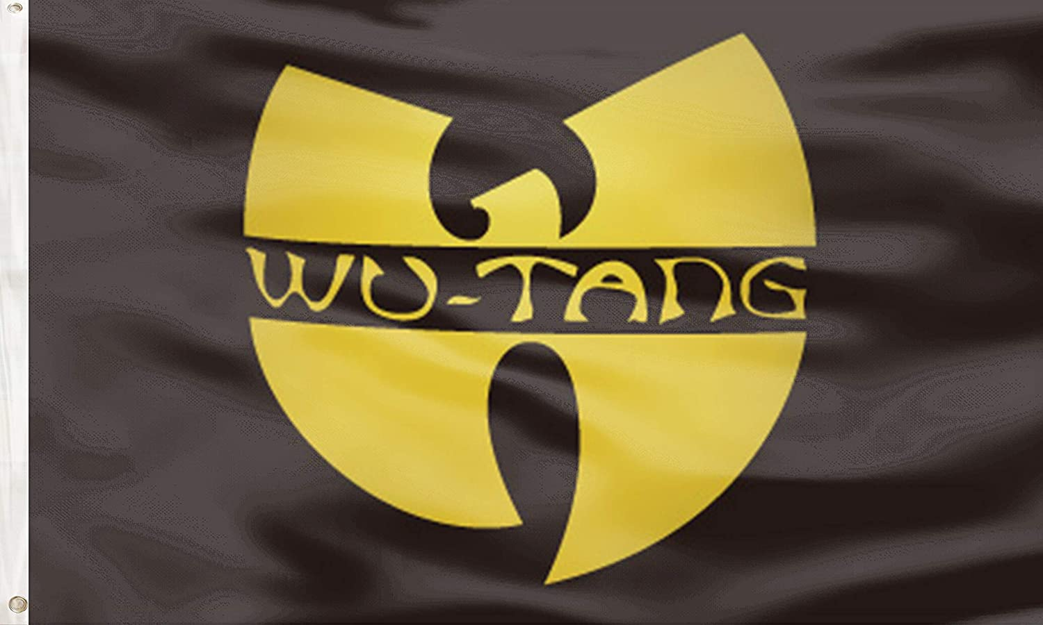 WU-Tang Clan Flag Funny Poster UV Resistance Fading & Durable Man Cave Wall Flag with Brass Grommets for Dorm Room Decor,Outdoor,Parties,3 x 5 Ft