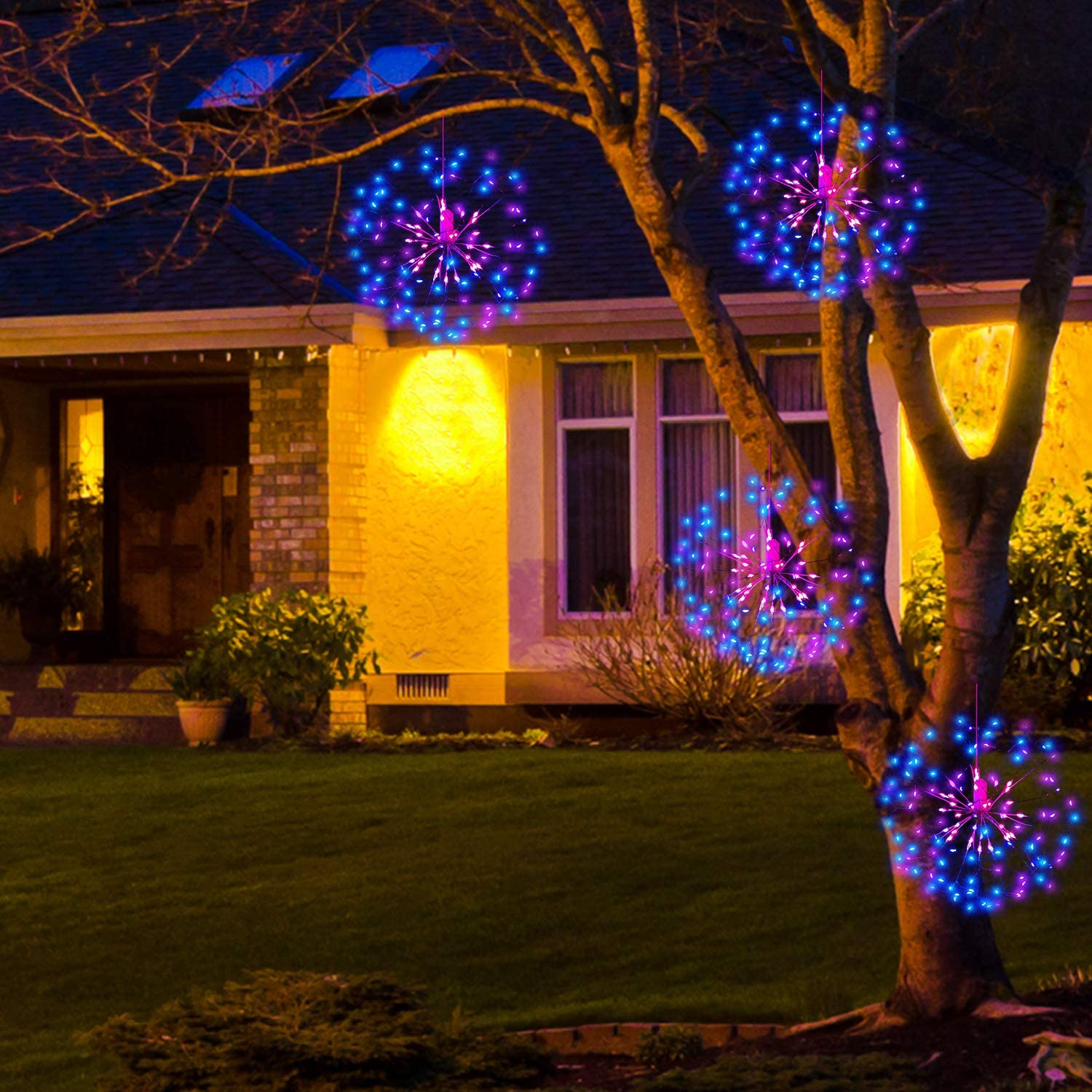 Waterproof Digitblue L-01 L-01 Fairy Battery Operated 2 Pack Outdoor String Light Multi Color