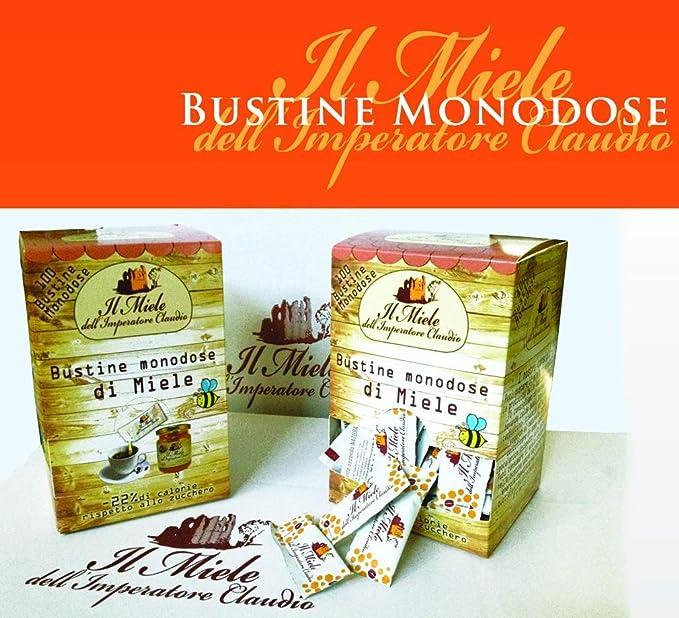 miele monodose  200 Bustine di miele monodose 6 g. Il Miele Dell'Imperatore Claudio ...