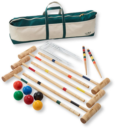 Maine Coast Croquet Set with Boat and Tote | Free Shipping at L.L.Bean