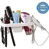 HOKIPO® Magic Sticker Series Self-Adhesive Hair Dryer Holder Stand