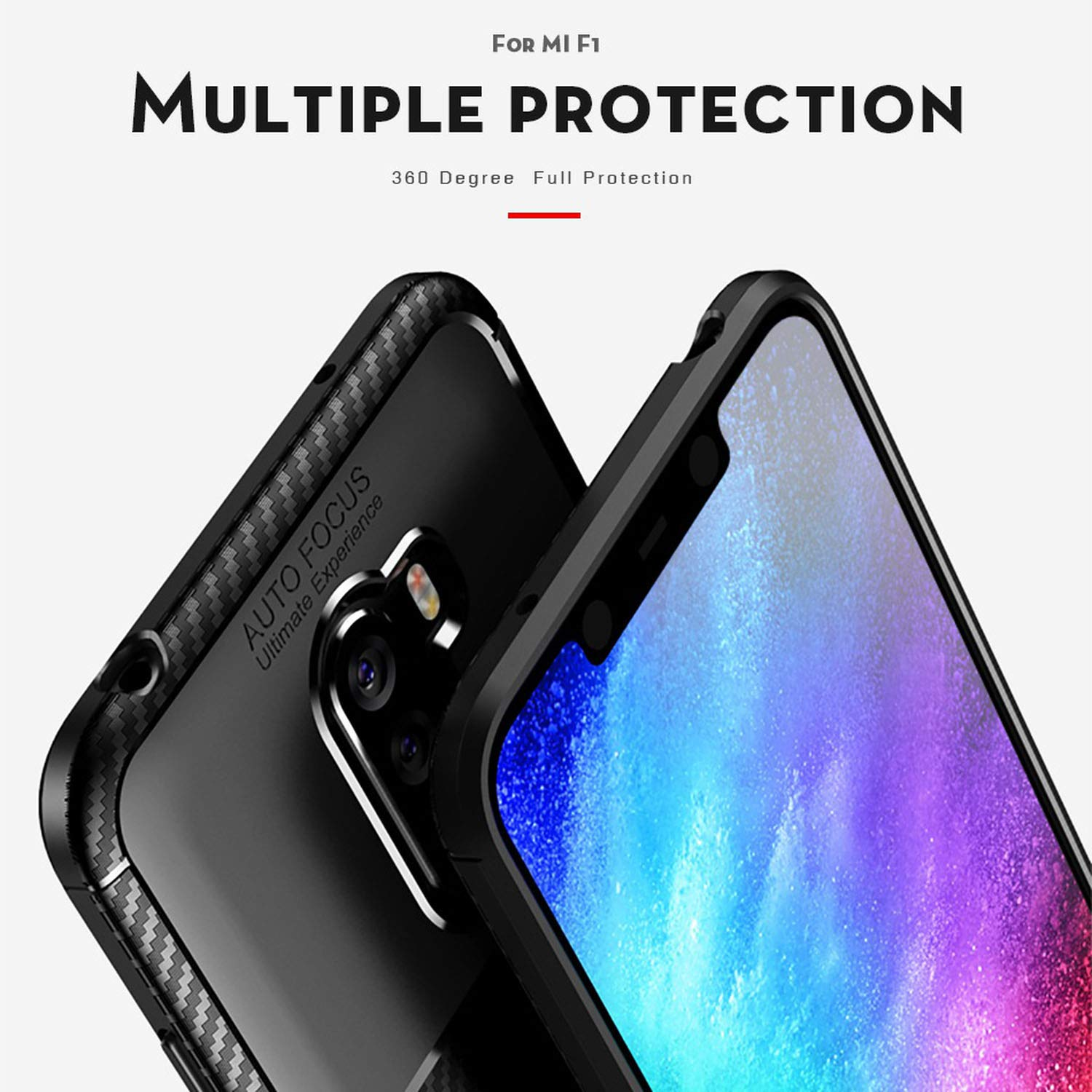 Amazon.com: Phone Case for Xiaomi Redmi Note 6 Pro Case ...