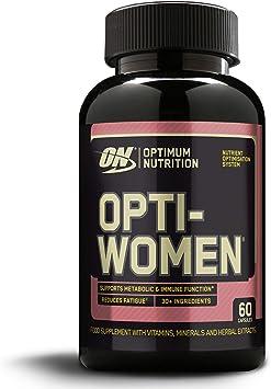 Optimum Nutrition Opti-Women, Suplemento Multivitamínico, Multivitaminas y Minerales para Mujeres con Vitamina D, Vitamina C, Magnesio y Acido Folico, ...