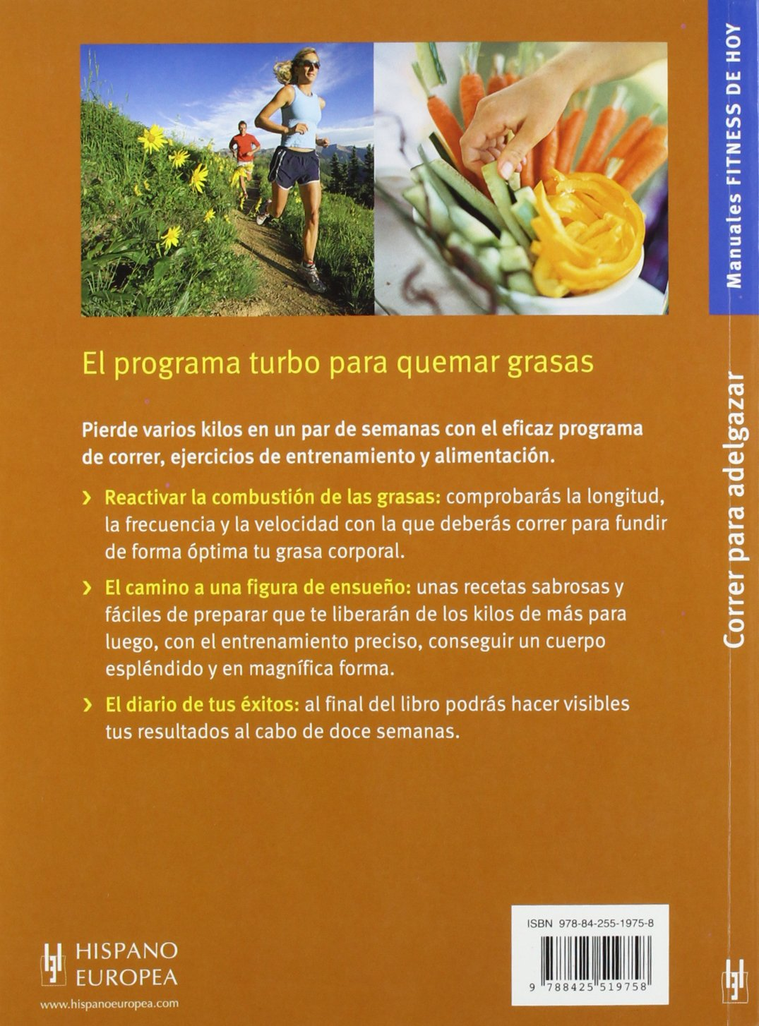 Correr para adelgazar (Fitness de hoy / Todays Fitness) (Spanish Edition): Markus Hederer: 9788425519758: Amazon.com: Books