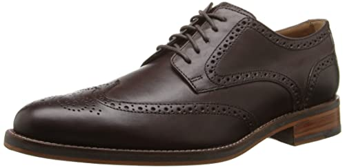 Cole Haan Men's Madison Grand Cap Toe Oxford, Dark Brown Leather-c20717, 7