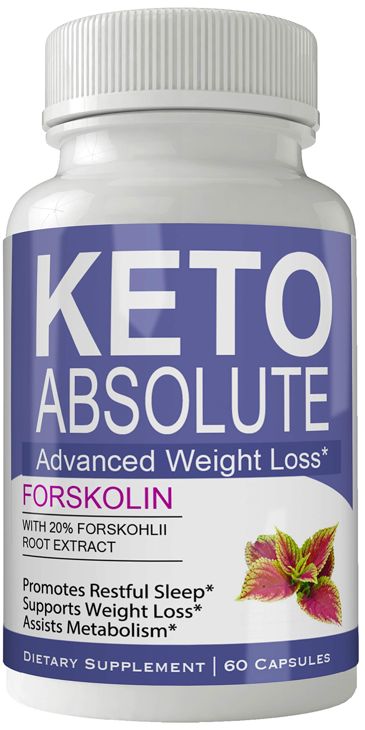 Keto Absolute Supplement Forskolin for Weight Loss Capsules with Natural High Quality Pure Forskolin Extract Diet Pills by nutra4health LLC (Image #1)