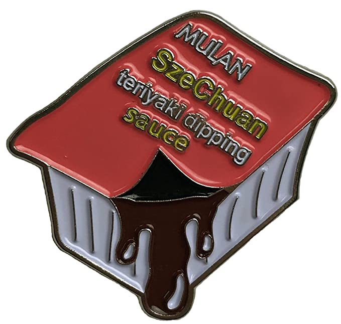 Pin Salsa Szechuan