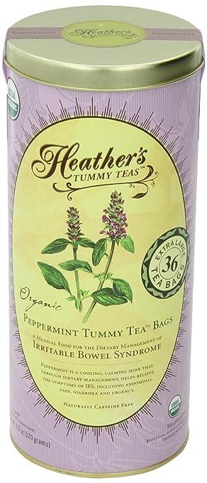 Heather's Tummy Teas, Peppermint for Abdominal Pain and Diarrhea