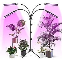 Woputne Tillväxtlampor för inomhusväxter med stativstativ, LED-växtljus med fullt spektrum, automatiskt på- och…