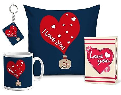 Amazon.com: Ribbons - Cojín con diseño romántico de San ...