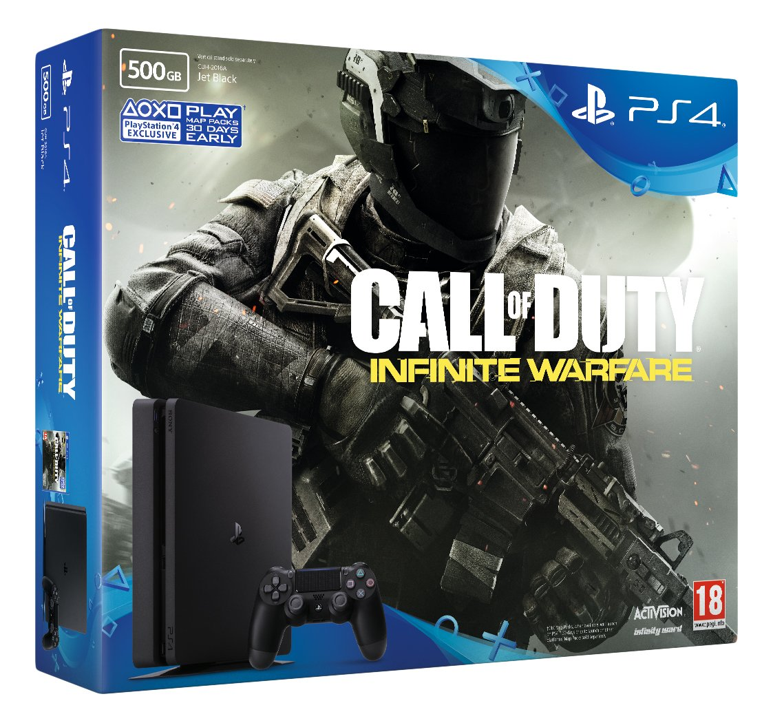 Sony PlayStation 4 500GB Call of Duty Infinite Warfare Bundle ...