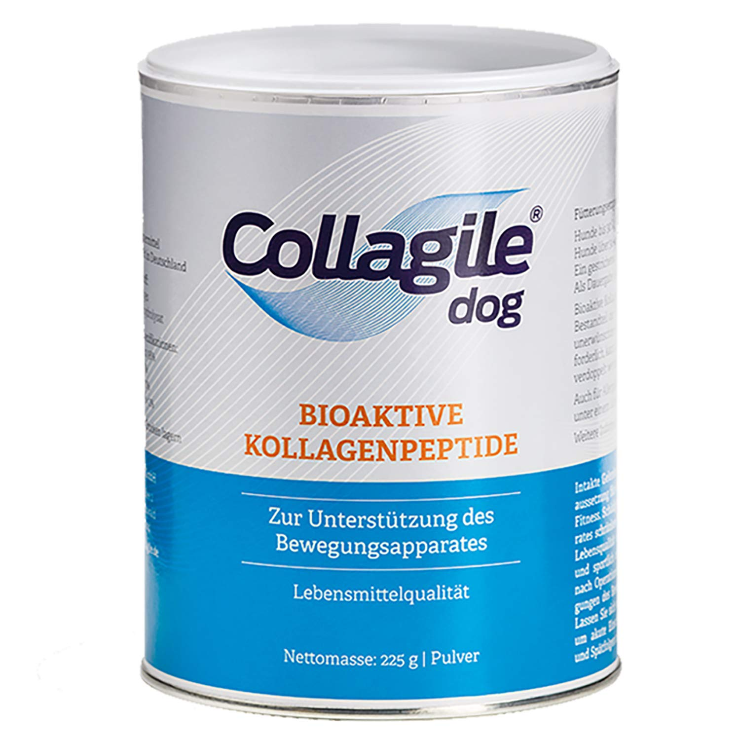 8 x 225g Collagile Dog Supplement for Bone and Ligaments Food Grade Bioactive Collagen Peptides