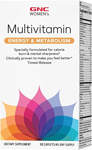 GNC Women's Multivitamin Energy & Metabolism