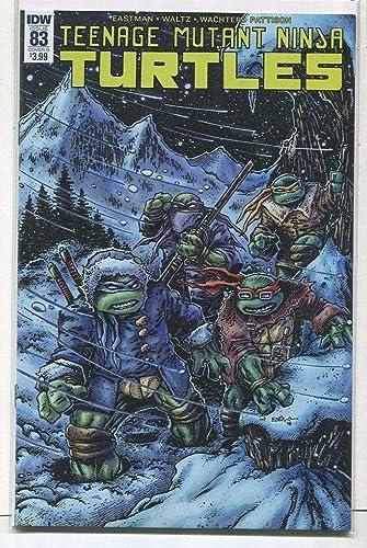 Amazon.com: Teenage Mutant Ninja Turtles #83 NM Cover B IDW ...