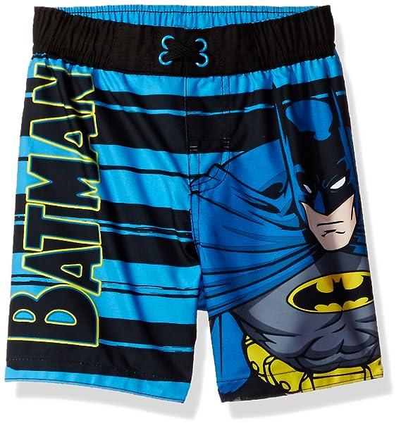 0f5cf6c688 Amazon.com: Warner Bros. Toddler Boys' Batman Swim Trunk, Black, 2T ...