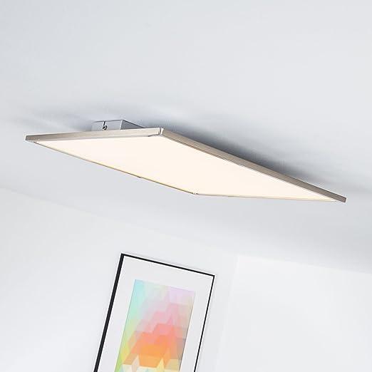 3100/L/úmenes /L/ámpara de techo Panel LED 42/W/ incluye mando a distancia intensidad regulable 50/x 50/cm rectangular /6500/K 2700/ hierro metal//pl/ástico