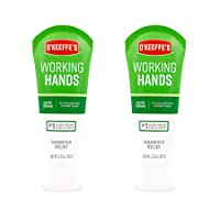 O'Keeffe's Working Hands Hand Cream, 3 ounce Tube, (Pack of 2), K0290007