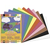Pacon SunWorks Construction Paper, 9-Inches by 12-Inches, 50-Count, Assorted (6503)