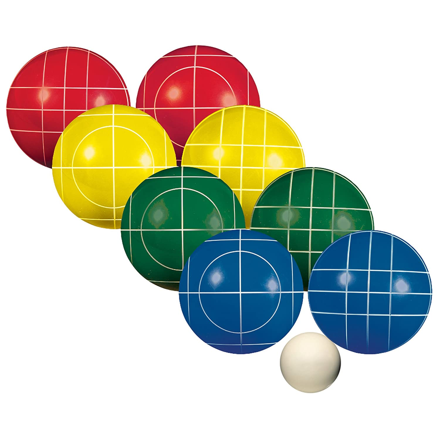 Amazon Franklin Sports Advanced 100mm Bocce Set General